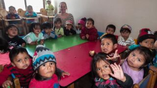 Happy World Children Day from all of our childcare projects in Quito! 🗺️👦👧🙌   #pmgy #pmgyecuador #worldchildrenday